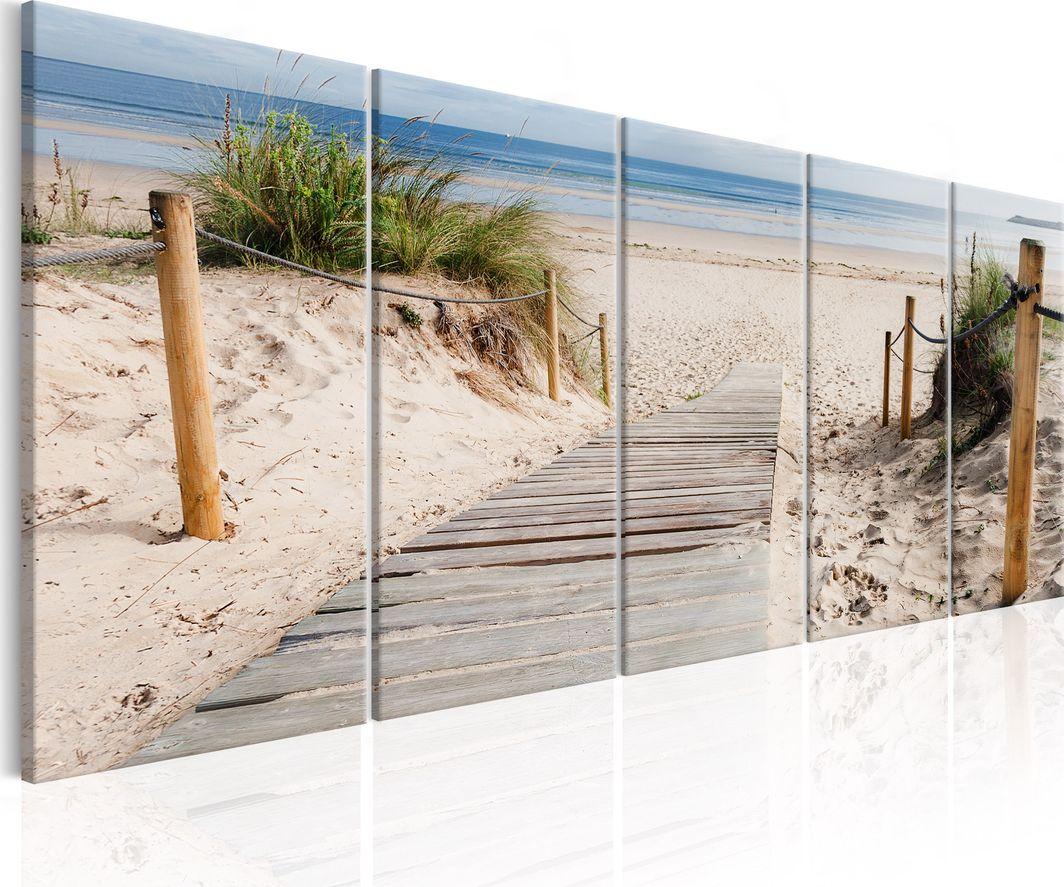 Artgeist Obraz - Plaża po deszczu ARTGEIST 1
