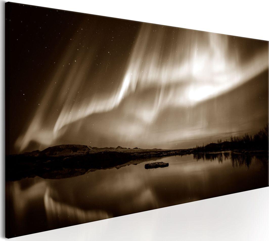 Artgeist Obraz - Jezioro w sepii ARTGEIST 1