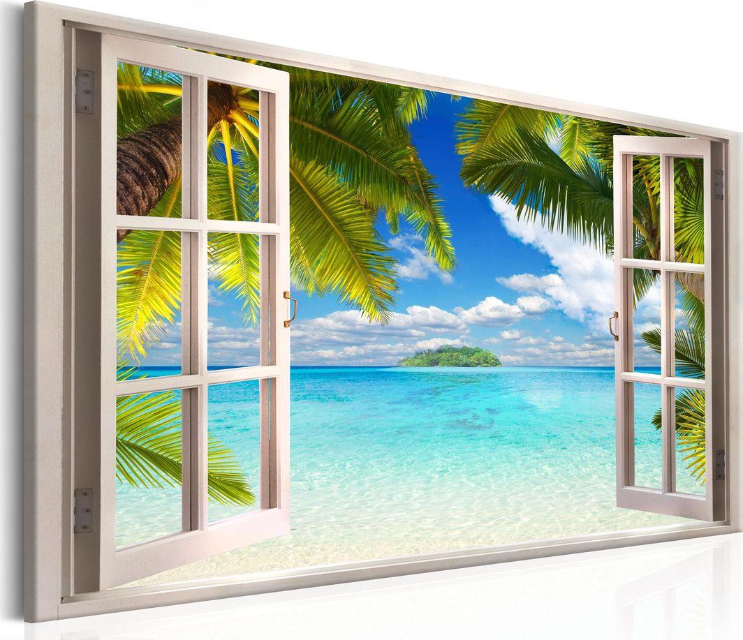 Artgeist Obraz - Okno: widok na morze ARTGEIST 1