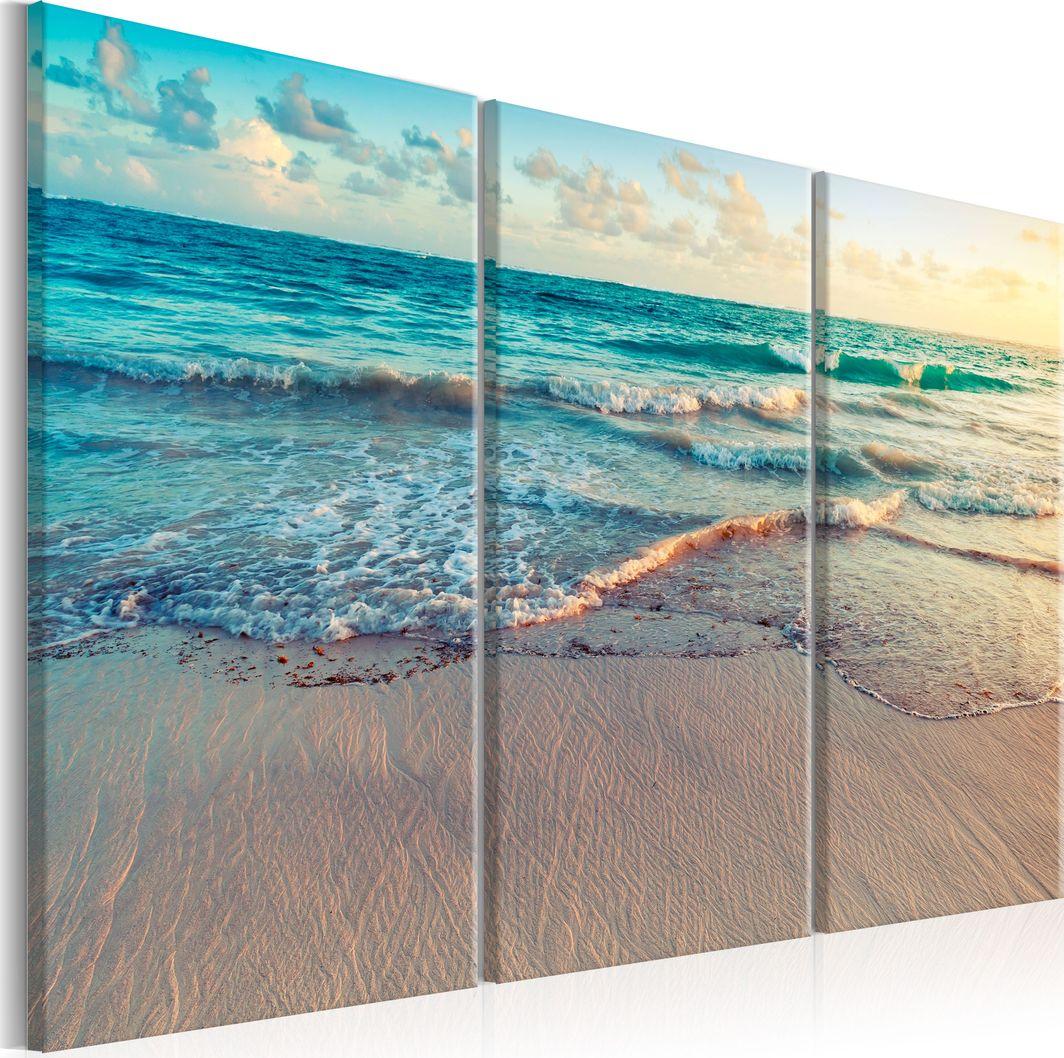 Artgeist Obraz - Plaża w Punta Cana (3-częściowy) ARTGEIST 1