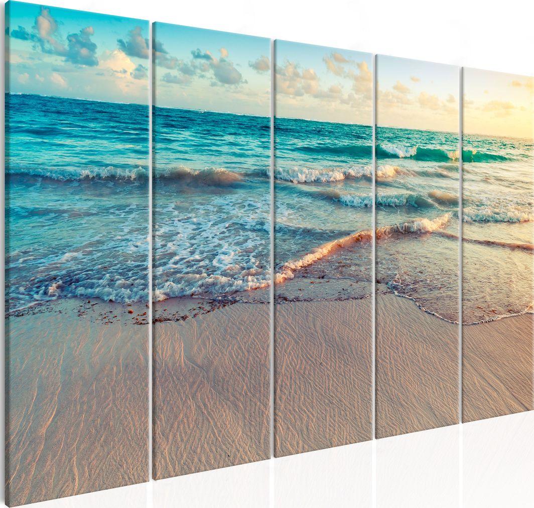 Artgeist Obraz - Plaża w Punta Cana (5-częściowy) wąski ARTGEIST 1