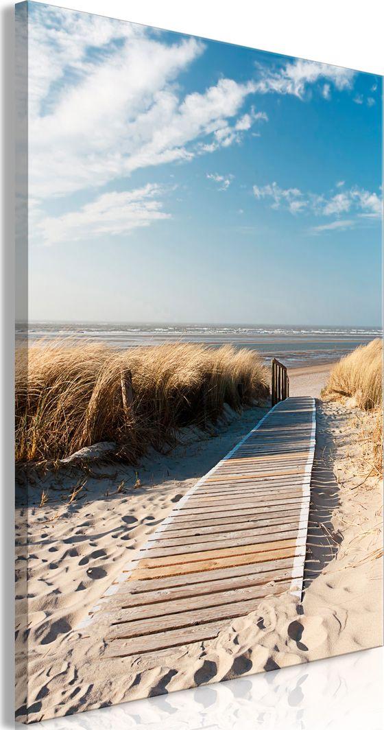 Artgeist Obraz - Samotna plaża (1-częściowy) pionowy ARTGEIST 1