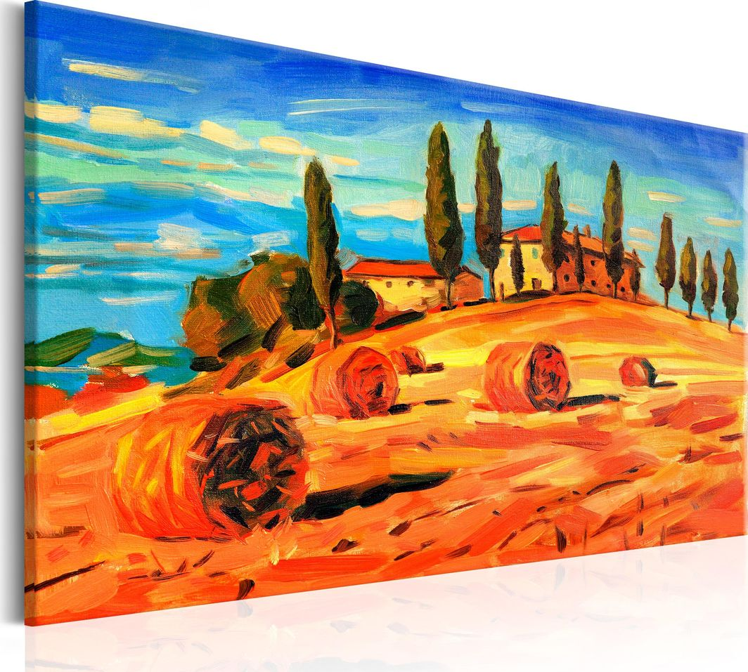 Artgeist Obraz - Sierpień w Toskanii ARTGEIST 1