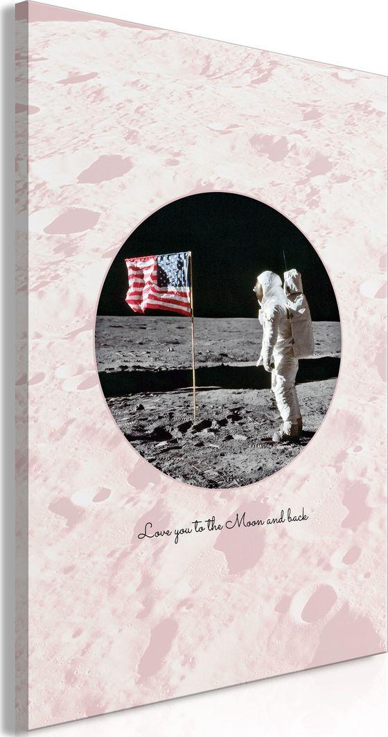 Artgeist Obraz - Love You to the Moon and Back (1-częściowy) pionowy ARTGEIST 1