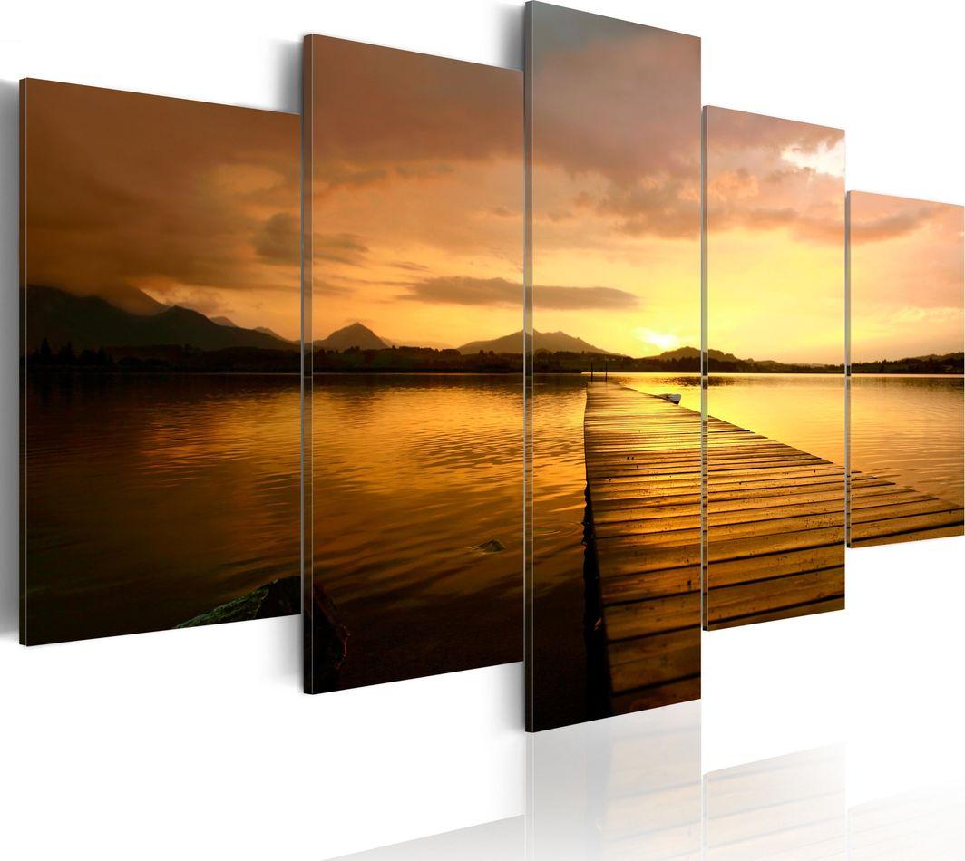 Artgeist Obraz - Wyspa zachodzącego słońca ARTGEIST 1