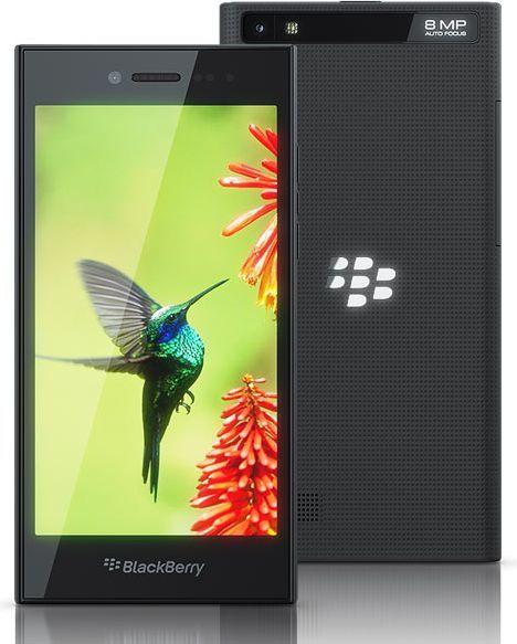 Smartfon Blackberry 16 GB Czarny  (Leap Black) 1
