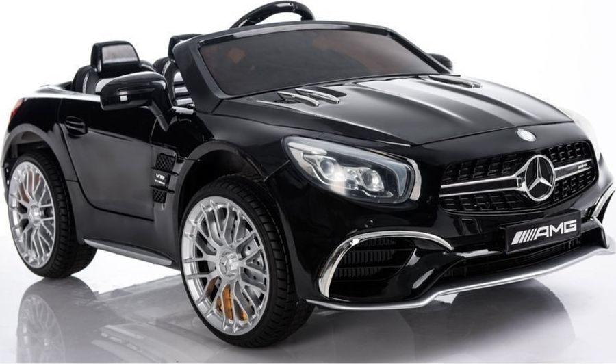 Lean Cars Auto na Akumulator Mercedes SL65 Czarny Lakier 1