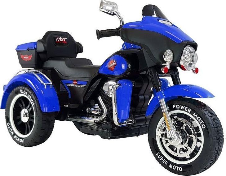 Lean Cars Motocykl na Akumulator ABM-5288 Niebieski 1