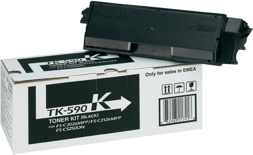 Kyocera Toner TK-590K czarny 1