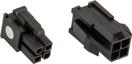 CableMod Wtyczka 4-Pin ATX12v, czarny 1