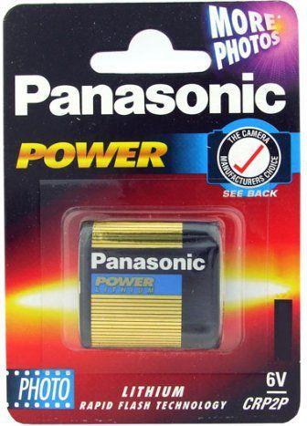 Panasonic Bateria Photo CR-P2 850mAh 1szt. 1