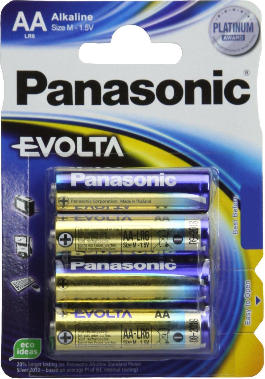 Panasonic Bateria Evolta AA / R6 4szt. 1