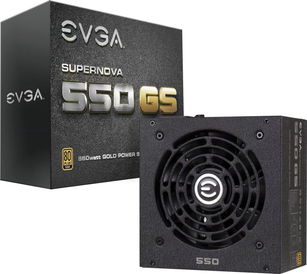 Zasilacz EVGA SuperNOVA GS 550 80 Plus Gold (220-GS-0550-V2) 1