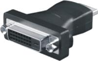Adapter AV Mcab HDMI na DVI-D (M/F) Czarny (7100029) 1