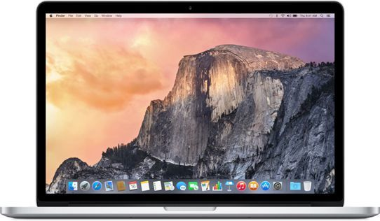 Laptop Apple MacBook Pro Retina 15 (MJLQ2ZE/A) 1