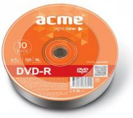 Acme DVD-R, 4.7GB, 16X, Szpindel, 10pack (4770070858219) 1