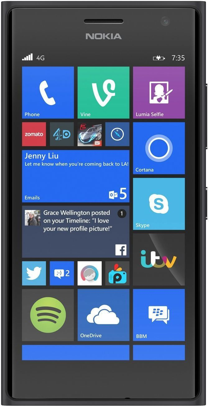 Smartfon Nokia 8 GB Szary  (A00024421) 1