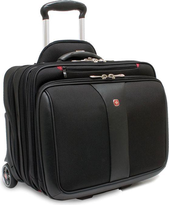 ccf682c0a5ced Wenger walizka + torba do laptopa PATRIOT czarna 17