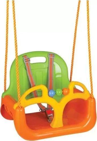Huśtawka Woopie Huśtawka Swing 3w1 Pomarańczowa 1