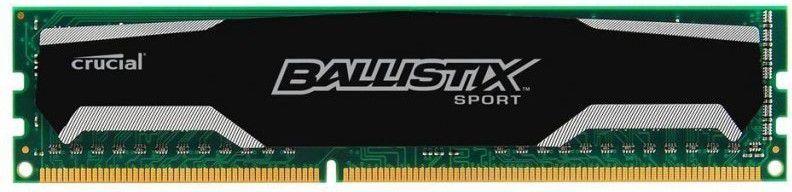 Pamięć Ballistix Ballistix Sport, DDR3, 8 GB, 1600MHz, CL9 (BLS2C4G3D169DS1J) 1