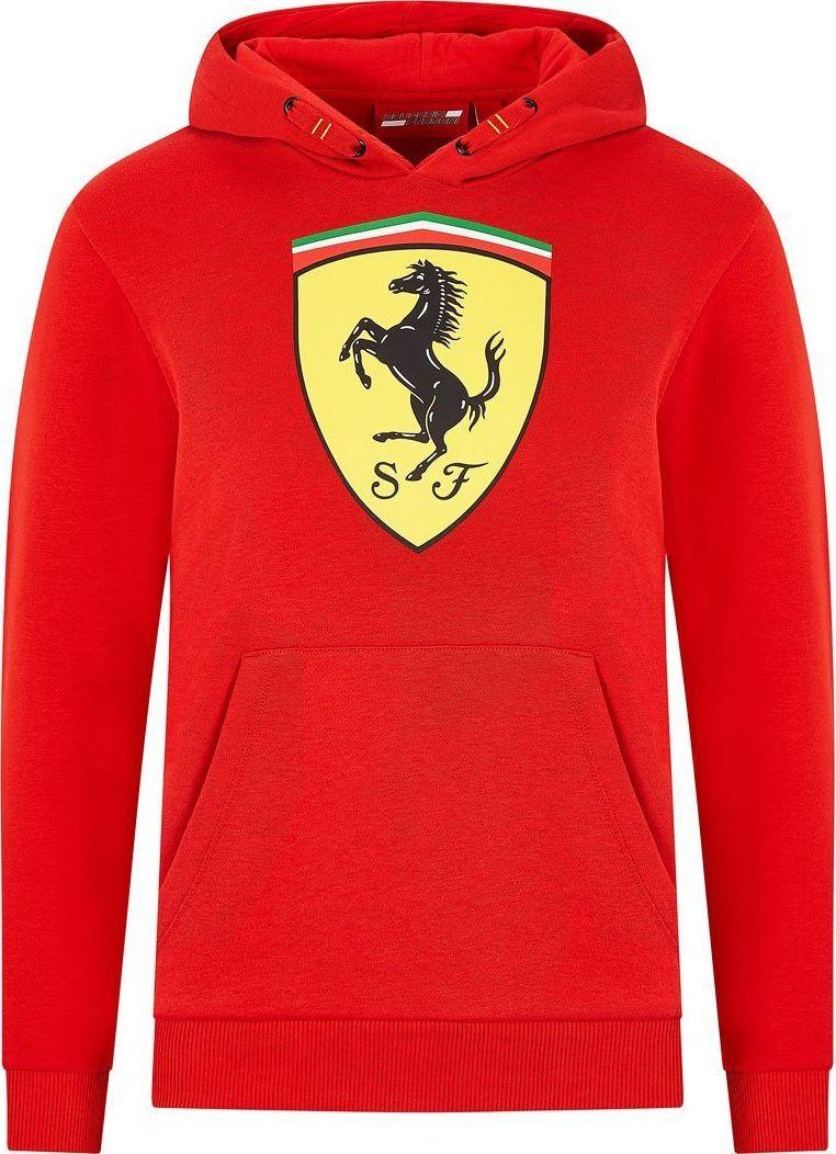 Scuderia Ferrari F1 Team Bluza dziecięca Logo czerwona Scuderia Ferrari 2020 128 cm (dzieci) 1