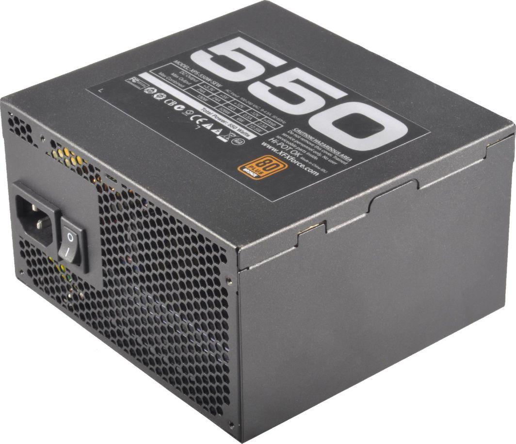 Zasilacz XFX Core TS 550W (P1-550S-GREN) 1