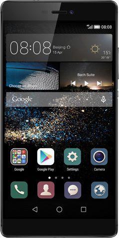 Smartfon Huawei 16 GB Czarno-srebrny  (Ascend P8 GRACE Titanium Grey) 1