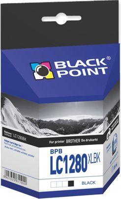 Black Point tusz BPBLC1280XLBK / LC1280BK (black) 1