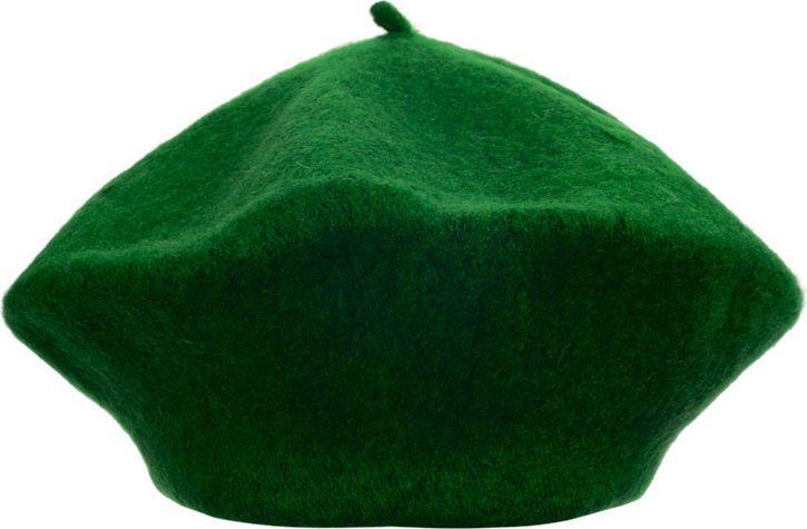 zielony beret