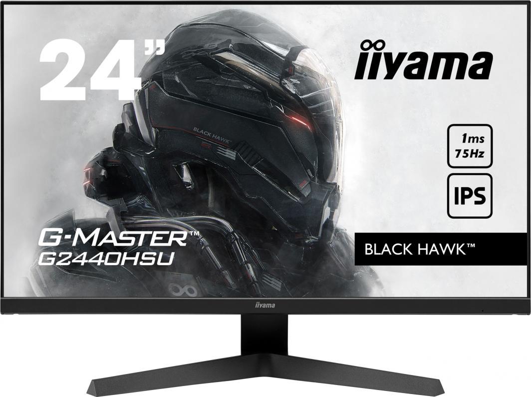 Monitor iiyama G-Master Black Hawk G2440HSU-B1 1