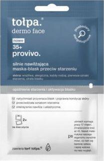 Tołpa Provivo 35+maska blask przeciw starzeniu 2x6ml  1
