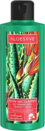 Aloesove Płyn Micelarny do demakijażu twarzy i oczu 200 ml  1
