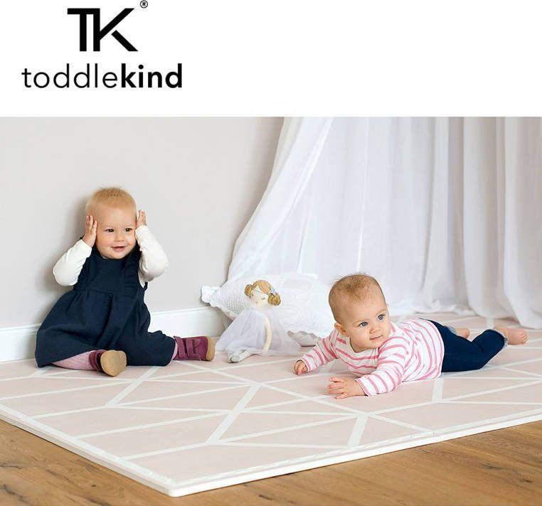 TODDLEKIND Mata do zabawy piankowa podłogowa Prettier Playmat Nordic Vintage Nude Pink 1