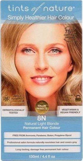 Tints of Nature Farba naturalny jasny blond eco 1