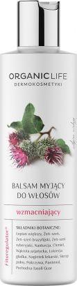 Organic Life Organic Life - Balsam do włosów wzmacniający 250 g uniwersalny 1