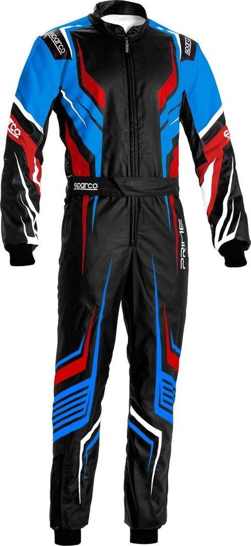 Sparco Kombinezon kartingowy Sparco Prime K MY20 czarno-niebieski (CIK-FIA) 54 1