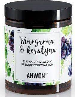 Anwen Anwen - Maska do włosów. Winogrona i kreatyna - 180 ml uniwersalny 1