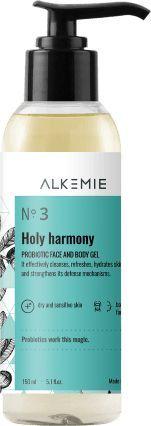 ALKEMIE Probiotyczny Żel Do Mycia Twarzy i Ciała 150 ml  1