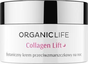 Organic Life Botaniczny krem Collagen Liftnoc  1