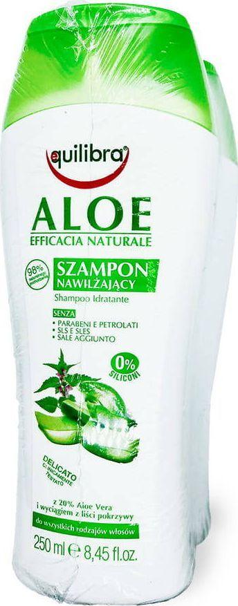 Equilibra Equilibra - Naturale Aloe zestaw szampon 1+1 - 250 ml uniwersalny 1