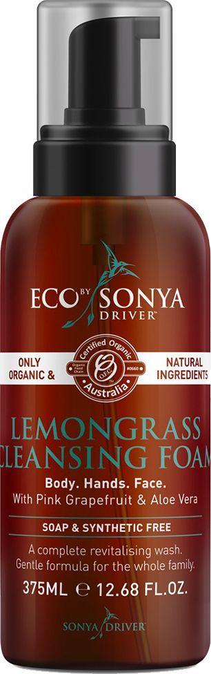 Eco by Sonya Driver Pianka oczyszczająca do twarzy i ciała 375 ml 1