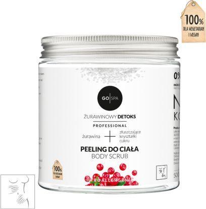 GoCranberry  Gospa - Peeling do ciała. Żurawinowy detox - 500 ml uniwersalny 1