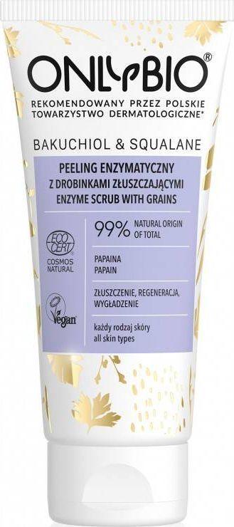 Only Bio Peeling enzymatyczny z drobinkami złuszczającymi do twarzy 75 ml  1