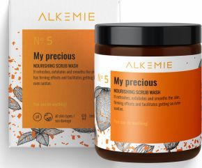 ALKEMIE Alkemie - My precious. Odżywczy peeling myjący do ciała - 200 g uniwersalny 1