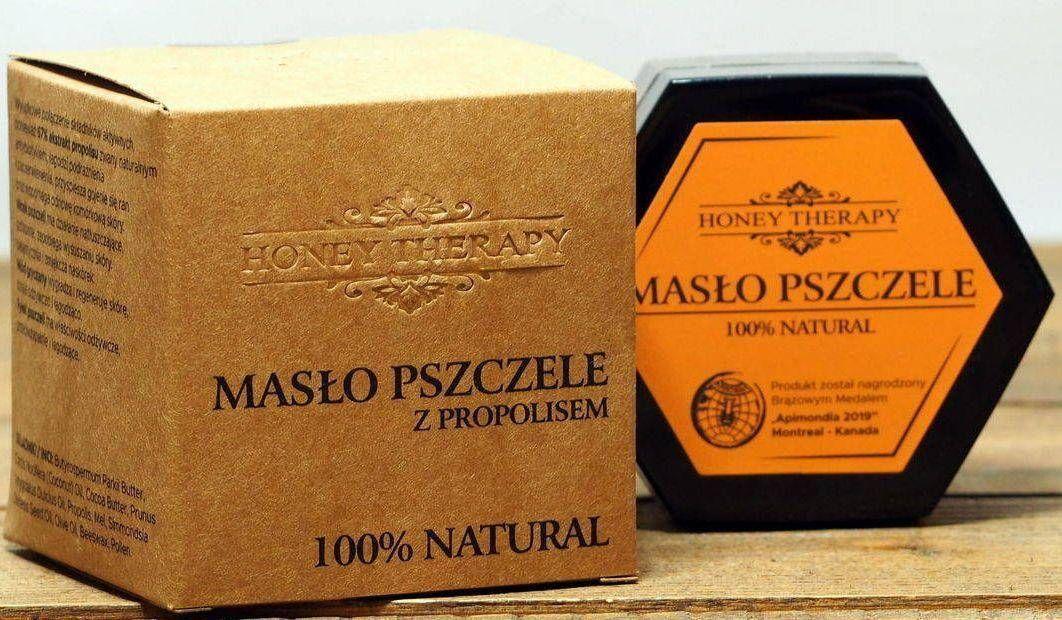 Honey Therapy Honey Therapy - Masło pszczele z propolisem - 40 g uniwersalny 1