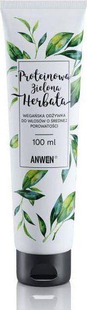 Anwen Anwen - Mała odżywka proteinowa zielona herbata. Do włosów średnioporowatych - 100 ml uniwersalny 1