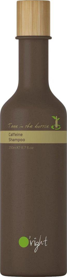 O-right Drzewko w butelce szampon kofeinowy wzmacniający i pobudzający wzrost włosów  1