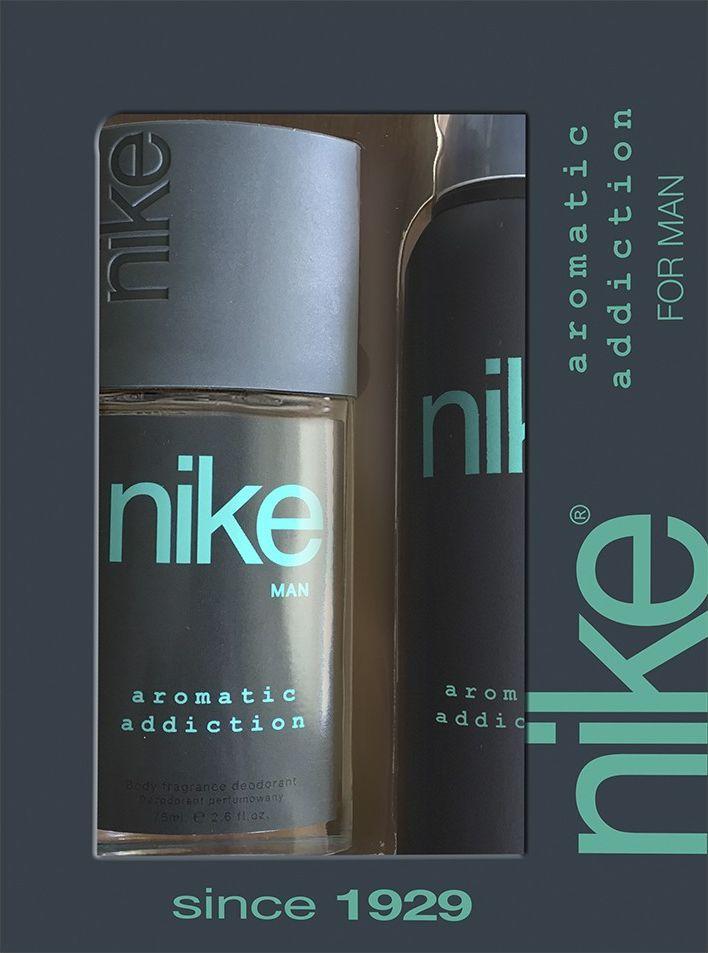 Nike Zestaw dla mężczyzn Aromatic Addiction dezodorant w szkle 75ml+dezodorant spray 200ml 1