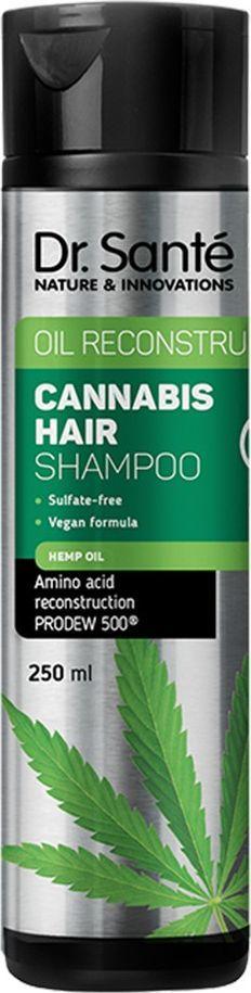 Dr Sante Cannabis Hair szampon do włosów rewitalizujący  1