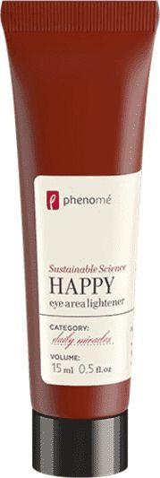 Phenome Phenom - Rozświetlający krem pod oczy. Happy eye area lightener - 15 ml uniwersalny 1